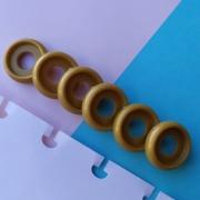 Disco P de Cadernos Infinito Inteligente Círculo 18mm - Dourado
