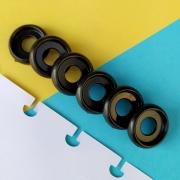 Disco P de Cadernos Infinito Inteligente Círculo 18mm - Preto