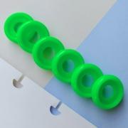 Disco P de Cadernos Infinito Inteligente Círculo 18mm - Verde Fluor