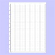 Refil de folha Kanji Para Cadernos de Disco Sistema Inteligente