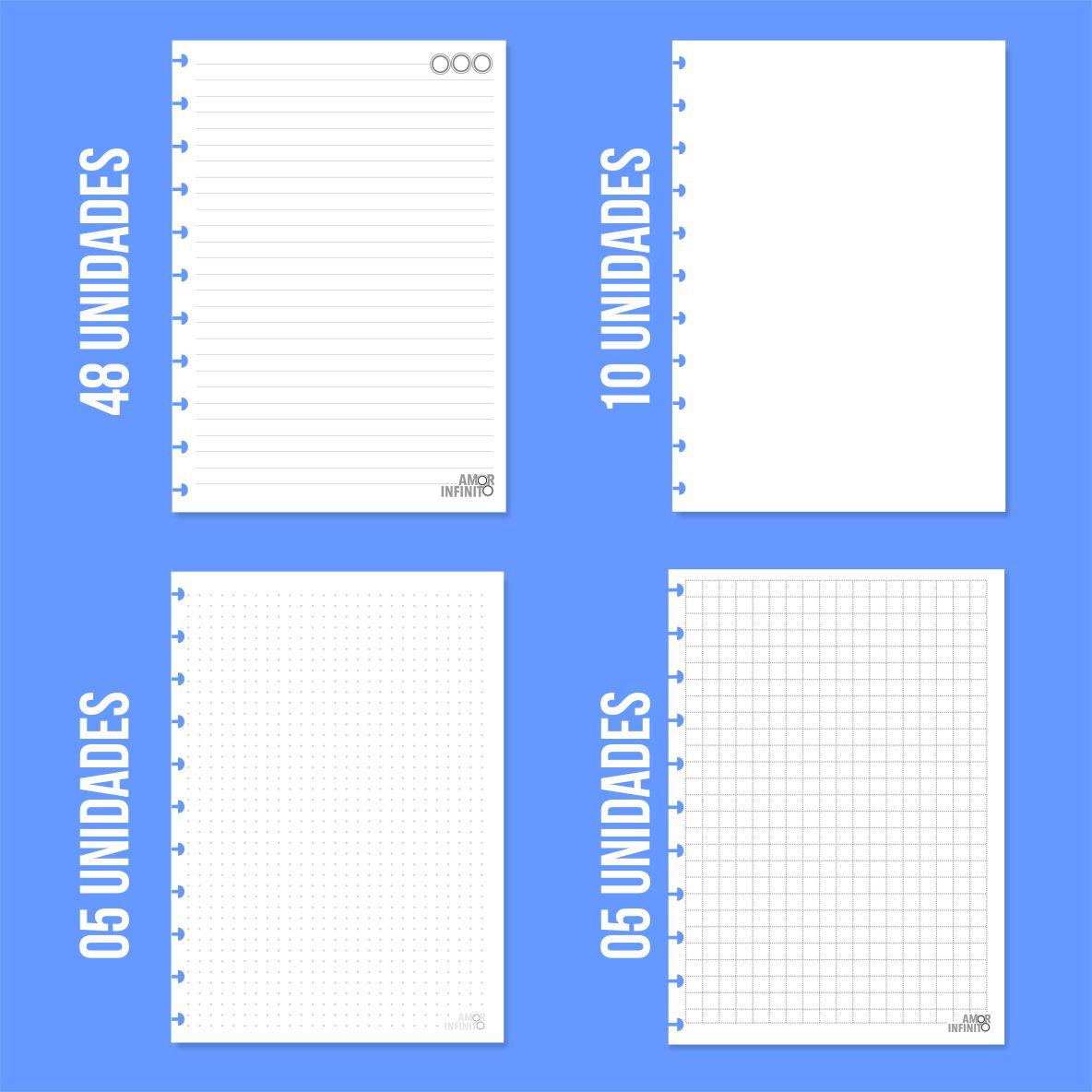 Caderno de Disco Infinito Sistema Inteligente - Bailarina