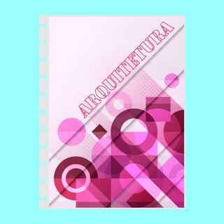 Capa de caderno de disco infinito em polaseal - Sistema inteligente - Profissões - Arquitetura
