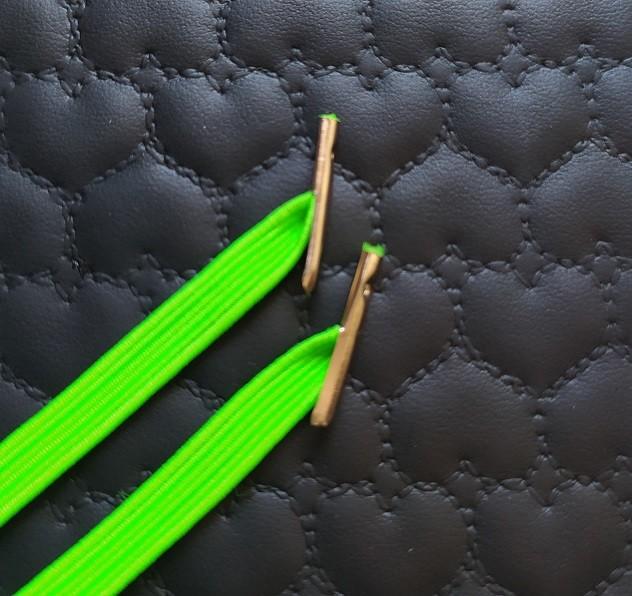 Elástico para caderno de Disco  Infinito Sistema Inteligente - 30cm com Acabamento de metal