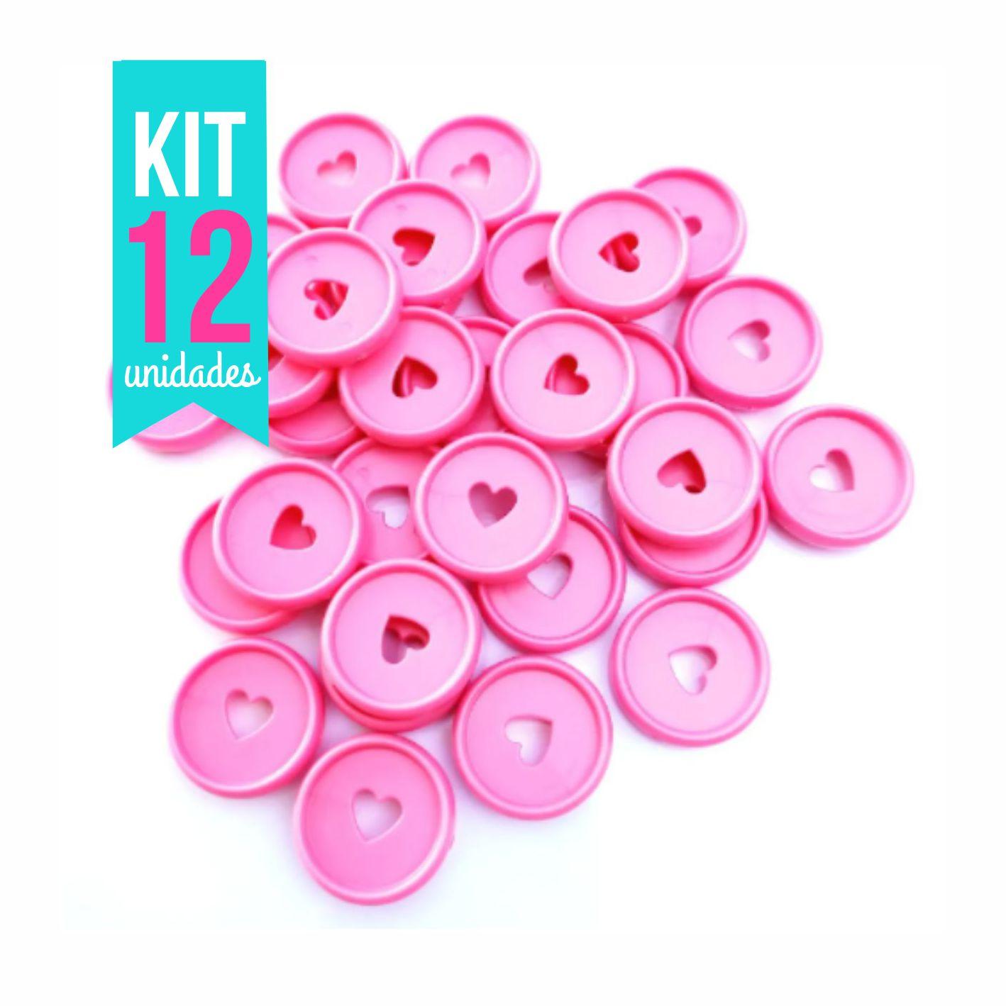 Kit Disco M 24mm de Caderno Infinito Sistema Inteligente - Coração