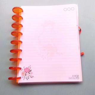 Refil de 48 folhas Para Cadernos de Disco Sistema Inteligente - Anne de Green Gables With an E