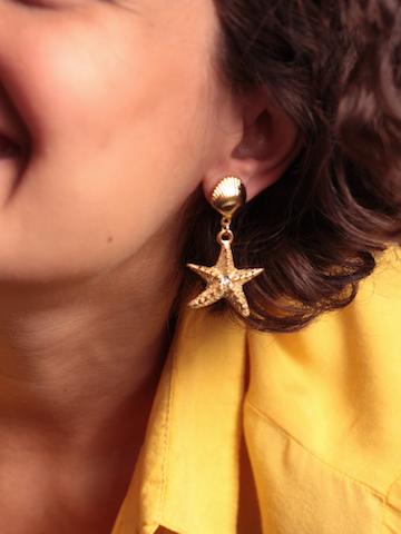 Brinco Estrela do Mar Concha