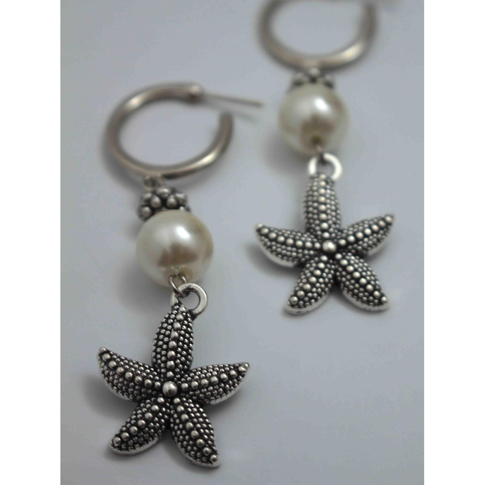 Brinco Estrela do Mar Pérola