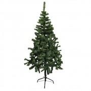 Arvore de Natal Pinheiro Natalino 1 metro e 50 centimetros 346 Galhos Verde Decoraçao Casa Festas