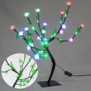 Arvore Pisca Pisca 36 Leds Abajur Roseira 54 cm Luminaria Natal Decoracao