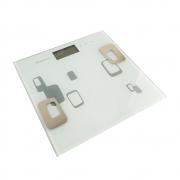 Balança Digital Corporal Bioimpedancia Imc Gordura Massa Multifuncao Touch Academia Alta Precisao Display Banheiro fit Inteligente