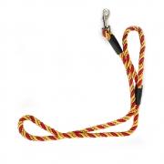 Coleira Corda de Nylon Trançada Cachorro Guia Pequeno Medio Porte Reforçada Grossa Corrente Pets
