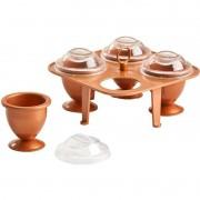 Cozedor Ovos Cozidos 4 Formas Ceramica Cozido Cozinha