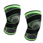Joelheira Elastica 3D Par Exercício Estabilidade Bandagem Joelhos Compressão Academia Apoio Suporte Articulação Fitness