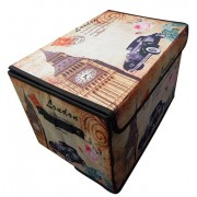 Kit Com 4 Caixas Decorativas Paris E Londres Treco Porta (PF-15)
