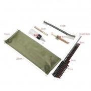 Kit de limpeza arma longo curto conjunto escova manutenção ferramenta bolsa