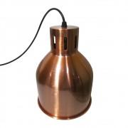 Lustre Luminaria Pendente Metal Decoração Iluminação Luz Casa Retro Vintage Pendulo