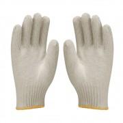 Luvas de Malha Tricotada Kit 50 Pares EPI Construção Obras segurança proteção Frio Reforçada