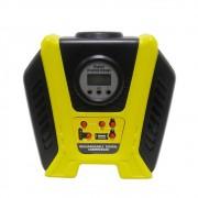 Mini Compressor Ar Recarregavel Digital USB Automotivo Portatil Carro Pneu Bola