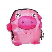 Mochila Infantil Escolar De Bichinho Porquinho Animais (AK004)