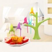 Palitos Para Petiscos E Porções Birdies Bar Cozinha em forma de beija flor (90555)