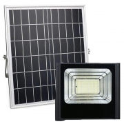 Refletor Placa Energia Solar Led 400w Holofote luminaria Ultra Proteçao Casa Jardim