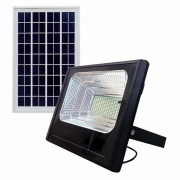 Refletor Solar Holofote Placa Solar Iluminacao Luminaria Led Energia