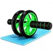Rolo de Exercicio Fisico Roda Abdominal Fitness Musculos Funcional Lombar