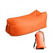 Saco de dormir Sofa Inflavel Puff Camping Preguiçoso Colchonete Magico Portatil Trilha  Praia Passeios