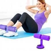 Suporte Abdominal Extensor com Ventosa Exercicio Perder Peso Musculacao Barra de abdominais