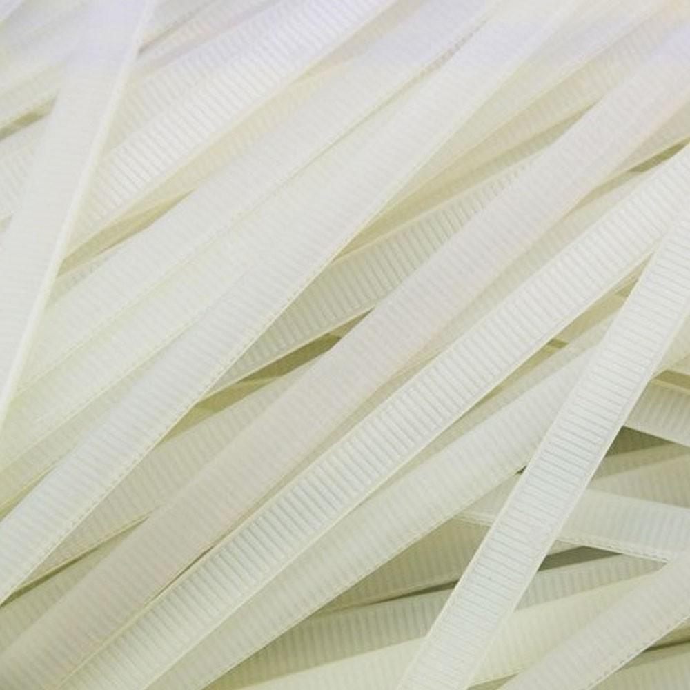 Abraçadeira de Nylon Branco 50 Uni Enforca Gato Cinta Plastica 380mm x 4.8mm