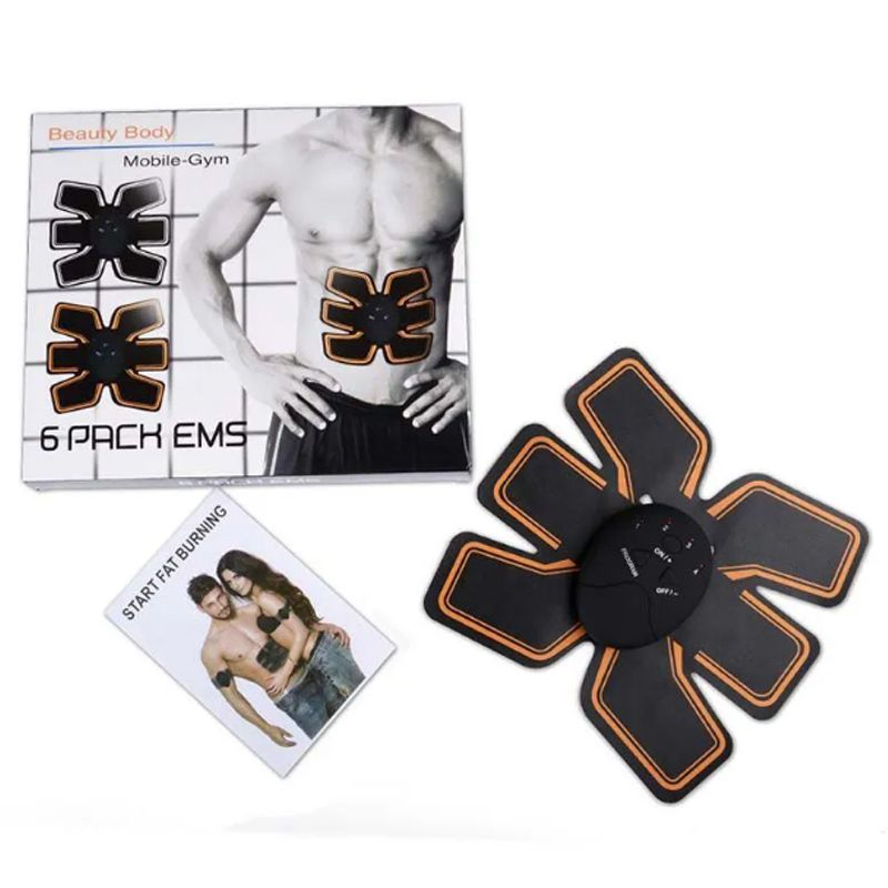 Aparelho Abdominal Eletrico Estimulador Musculo 6 Pack Sem