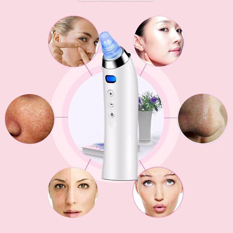 Aparelho Removedor de Cravos e Espinhas Digital Limpeza Facial Rosto Beleza