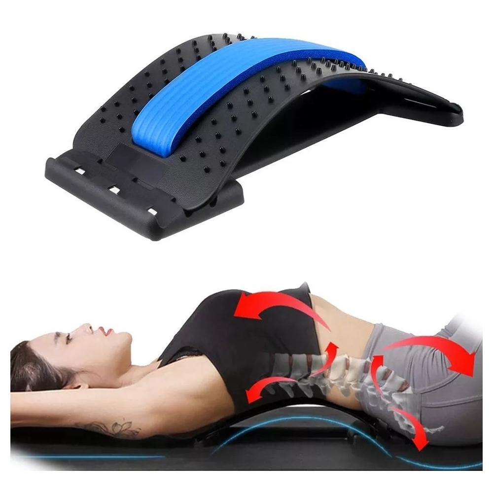 Apoio Encosto Lombar Costas Alivio Dor Postura Massagem