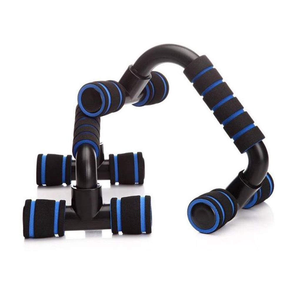 Apoio Flexao Braço Fixo Fortalecimento Musculaçao Exercicios Azul ou Laranja