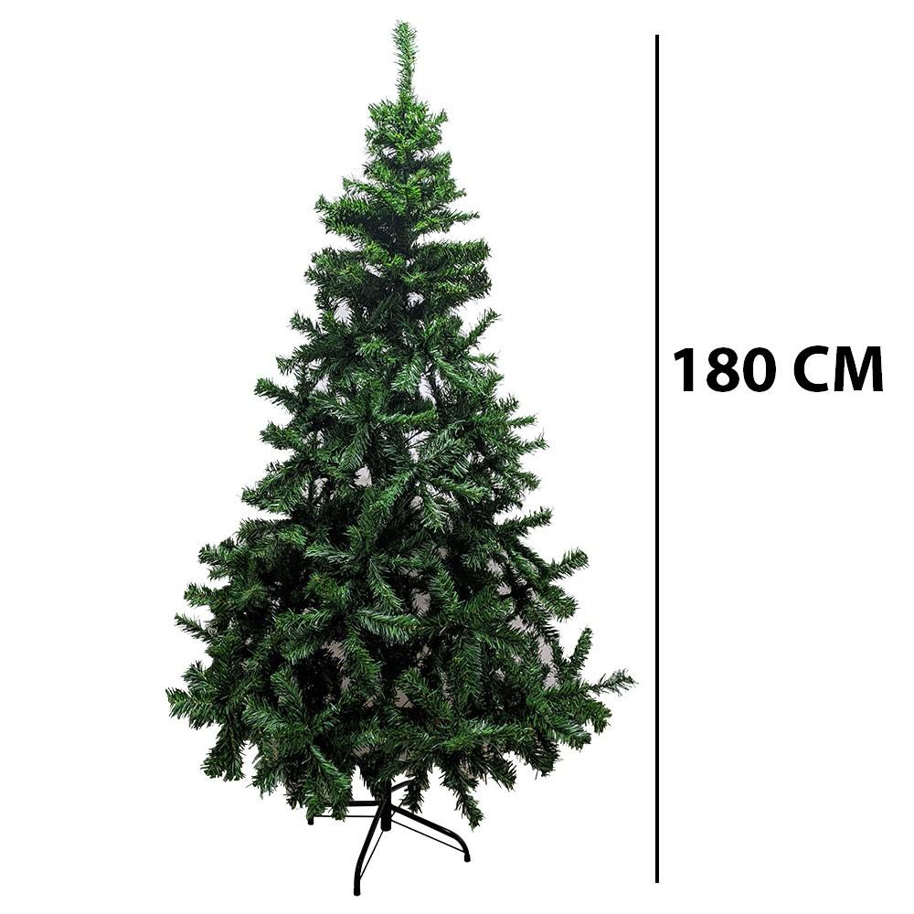 Arvore de Natal Pinheiro 1 metro 80 centimetros Decoraçao Natalina 556 Galhos Casa Festa