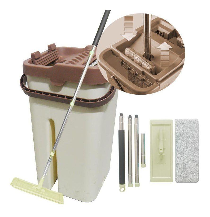 Balde Mop Limpador Multiuso Wash Faxina Limpeza Para Casa (BSL20045)