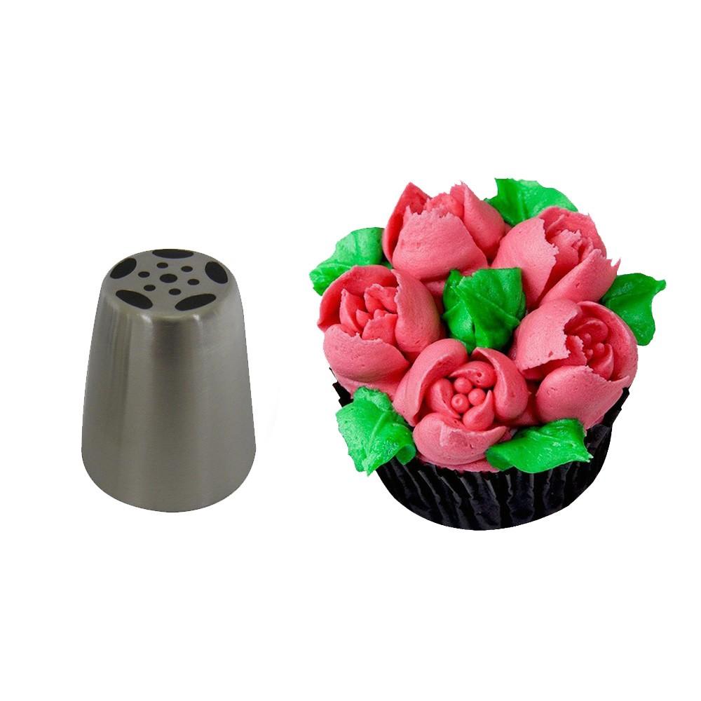 Bicos confeitar bolos 9 peças decoraçao confeiteiro doces cupcakes Inox Confeitaria artistica