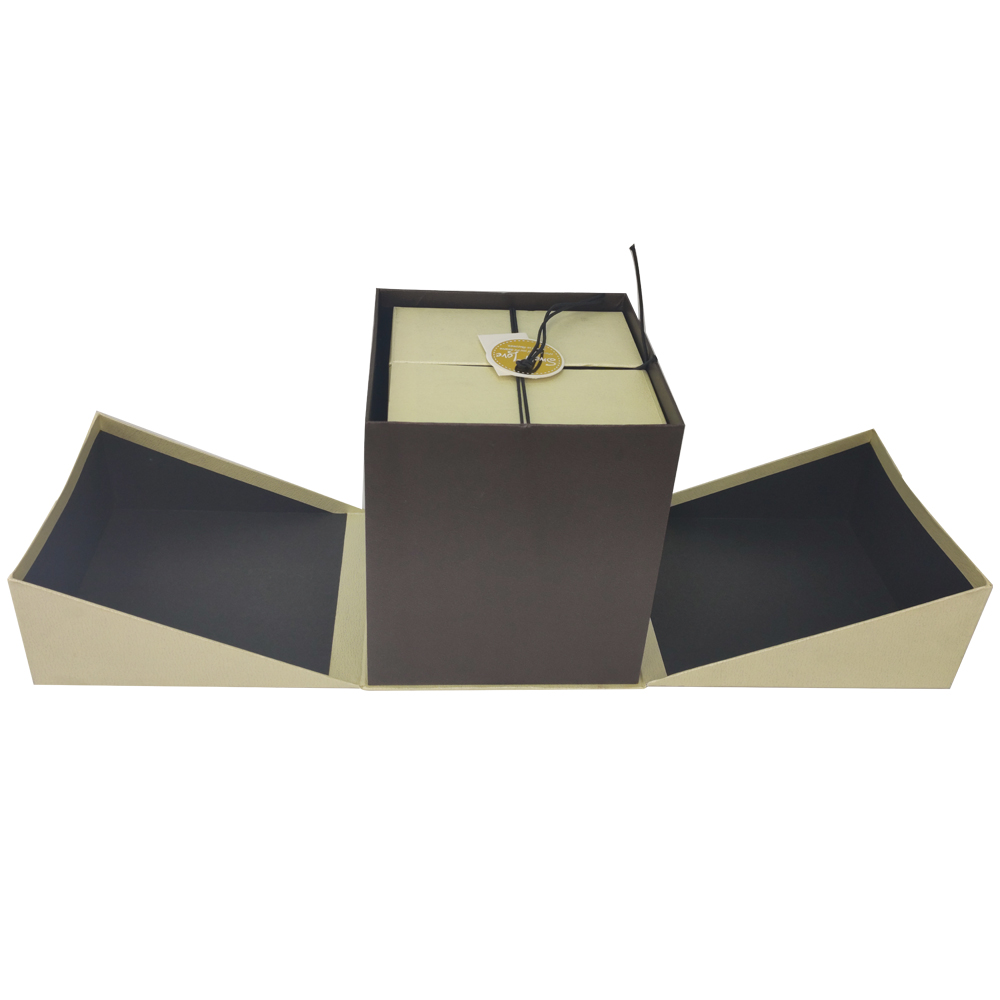 Caixa de presente Rigida Com Tampa com Elastico Enfeite Sweet Love Kit 3 caixas