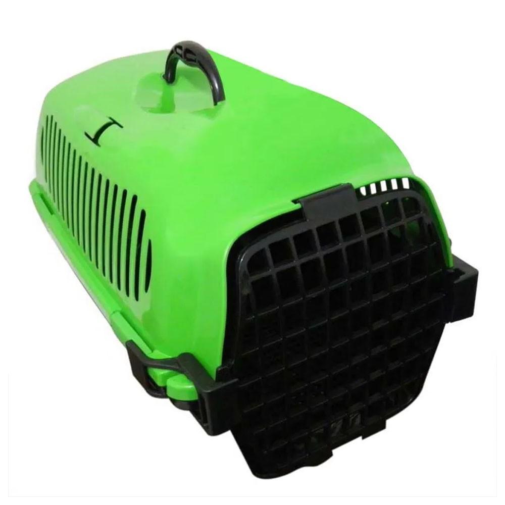 Caixa de Transporte Cachorro Gato Caes Animal de Estimaçao Viagem Alça Aviao Tamanho M