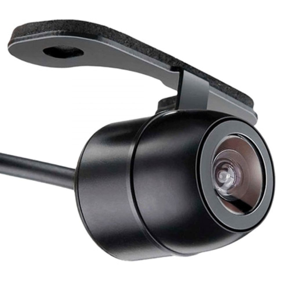 Camera De Re Automotiva Veicular Para Choque Universal Dvd Colorida