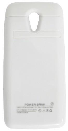 Capa Carregadora Portatil Para Celular Smartphone Moto G2 Xt1068 Xt1069 (TX-0218 Branco)
