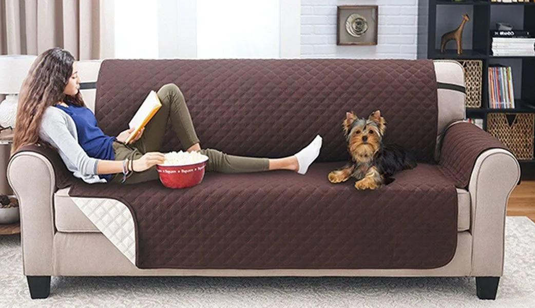 Capa Protetora Sofa Gato Cachorro Pet Criança Comida Bebida