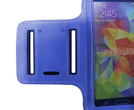 Capa Suporte De Braço Celular Samsung Galaxy S3 S4 S5 iPhone Corrida Cinza (S-30705)