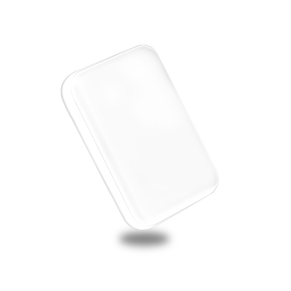 Carregador 10000 mah Portatil Usb Micro USB Tipo C Bateria Celular Branco