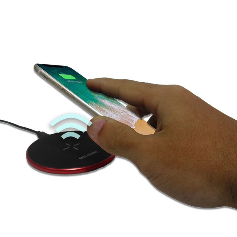 Carregador Sem Fio Celular Inducao iPhone Potente Qi