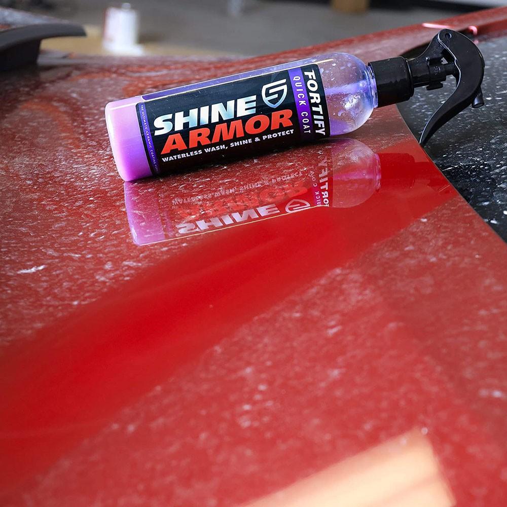 Cera Liquida Lava a Seco Limpa Encera Sela 3 em 1 Automoveis Roda Brilho Proteçao Revestimento Pintura Veiculos Automotivo