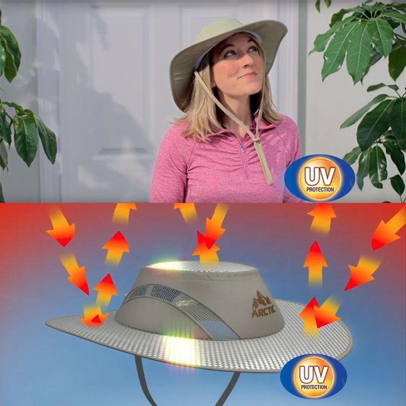Chapeu Bone Protecao Solar Raios UV Antitermico Impermeavel Pesca