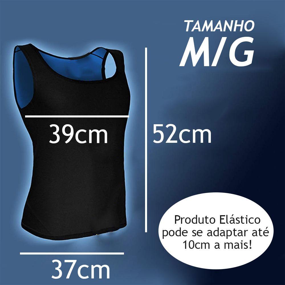 Cinta Camiseta Queima Gordura Feminina Termica Emagrecer Suor Neoprene Perde Peso