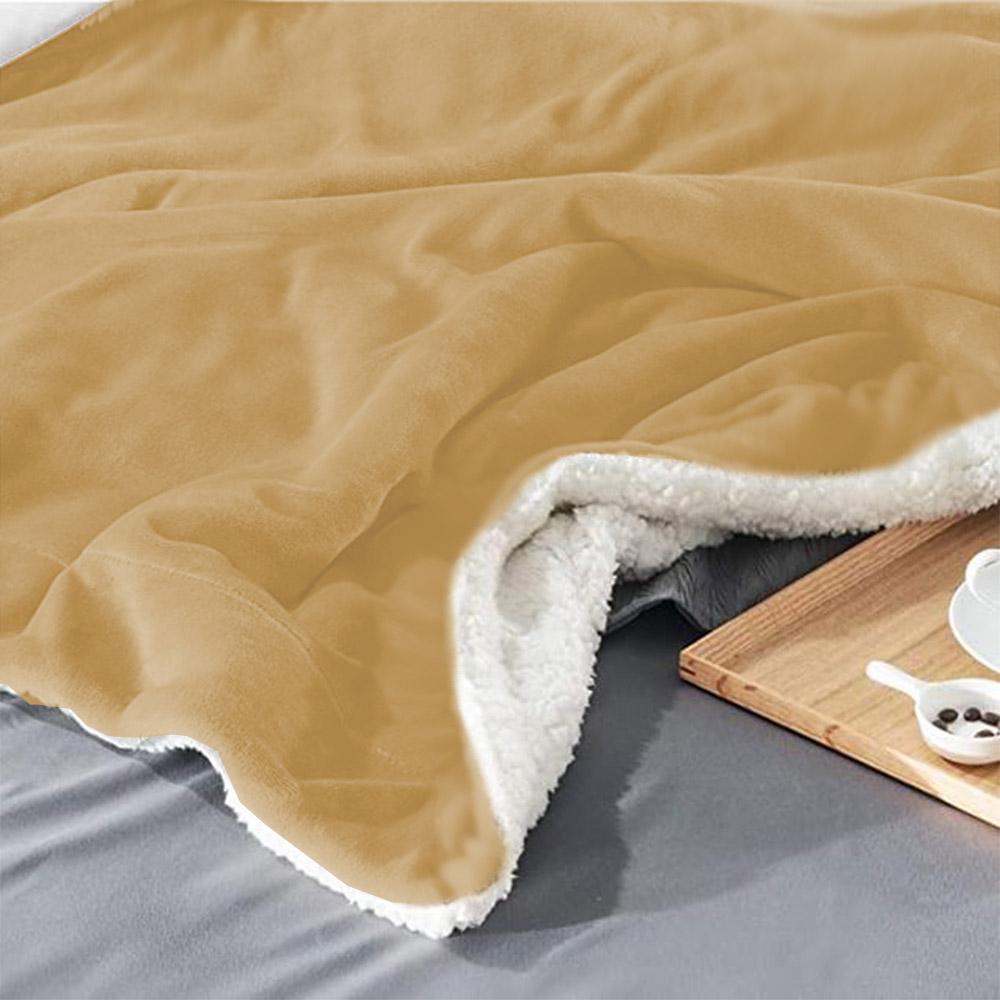 Cobertor Edredom Manta King Microfibra Dupla Face Soft Extra Macia Reversa Carneiro