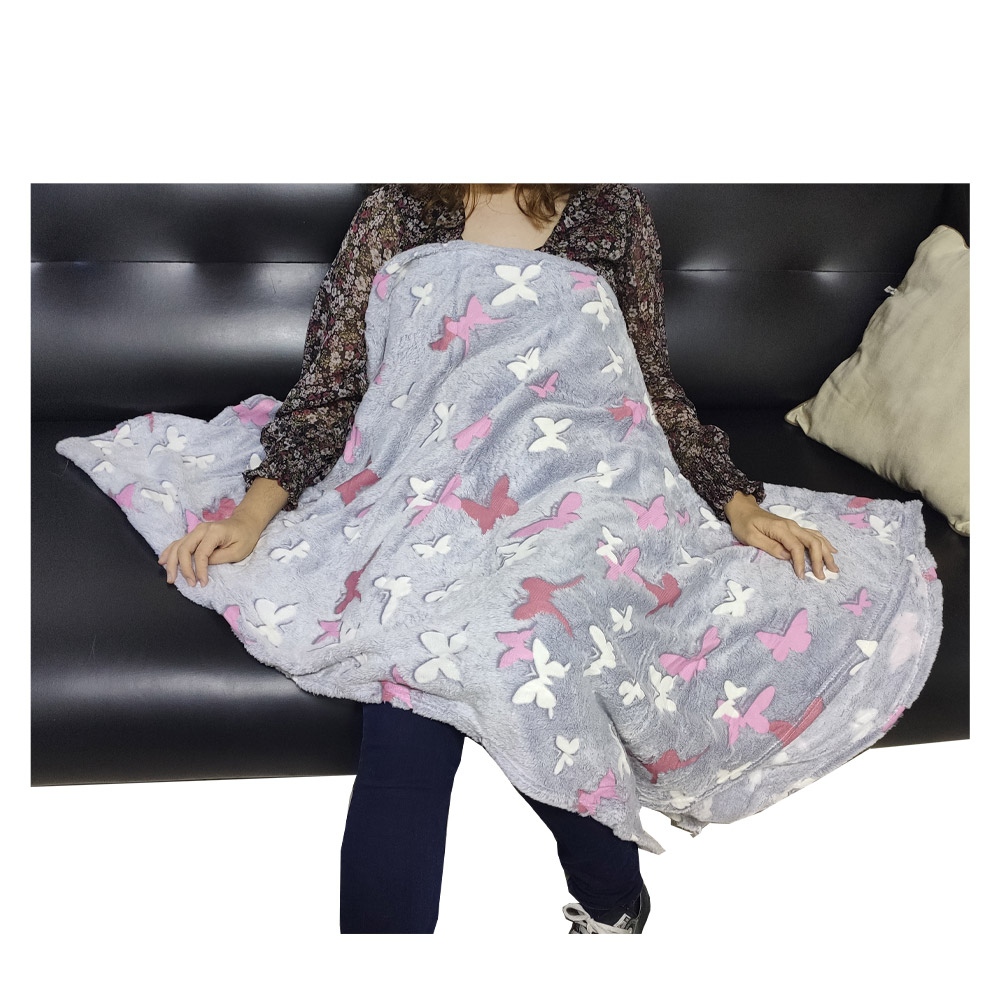Cobertor Manta Mantinha Infantil Brilha no Escuro Infantil Aveludado